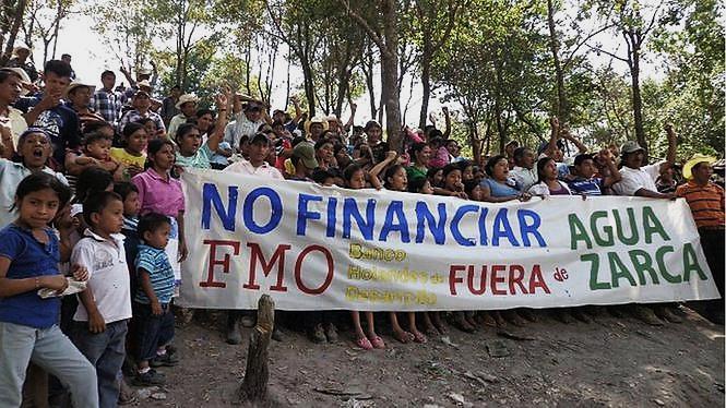 Honduras-Das Wasserkraftwerk Agua Zarca und der Fall Berta Caceres